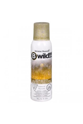 Bwild!!! - Hair and Body Glitter - Gold & Silver - 3.5oz / 100g