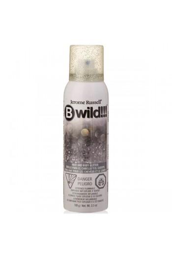 Bwild!!! - Hair and Body Glitter - Silver - 3.5oz / 100g