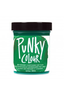 Punky Colour - Semi-Permanent Conditioning Hair Color - Alpine Green - 3.5oz / 100mL