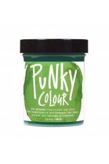 Punky Colour - Semi-Permanent Conditioning Hair Color - Apple Green - 3.5oz / 100mL