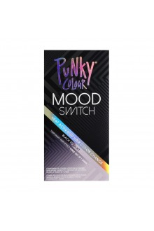 Punky Colour - Mood Switch - Heat Activated Hair Color Change - Black to Lilac