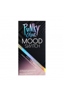 Punky Colour - Mood Switch - Heat Activated Hair Color Change - Black to Pink