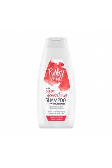 Punky Colour - 3-in-1 Color Depositing Shampoo + Conditioner - Coralustruous - 250mL / 8.5oz