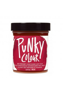 Punky Colour - Semi-Permanent Conditioning Hair Color - Poppy Red - 3.5oz / 100mL