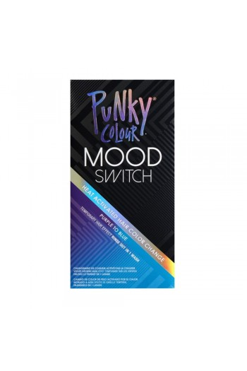 Punky Colour - Mood Switch - Heat Activated Hair Color Change - Purple to Blue