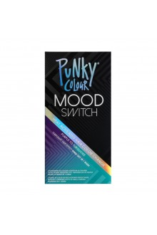 Punky Colour - Mood Switch - Heat Activated Hair Color Change - Purple to Turquoise