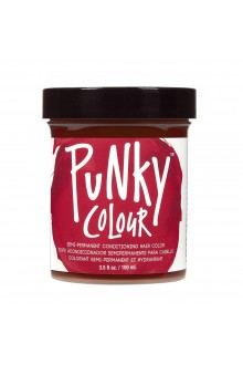 Punky Colour - Semi-Permanent Conditioning Hair Color - Vermillion Red - 3.5oz / 100mL
