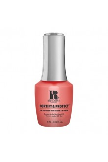Red Carpet Manicure - Fortify & Protect - Flashing Lights And Neon Signs - 9ml / 0.30oz