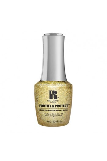 Red Carpet Manicure - Fortify & Protect - Glittering Like A Star - 9ml / 0.30oz