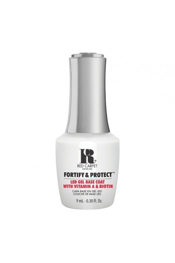 Red Carpet Manicure - Fortify & Protect - LED Gel Base Coat - 9ml / 0.30oz