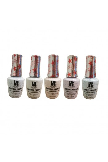 Red Carpet Manicure - Fortify & Protect - Hollywood Walk of Fame Collection - All 5 Colors - 9ml / 0.30oz EACH