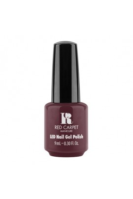 Red Carpet Manicure - LED Nail Gel Polish - Wine For The Win - 9ml / 0.30oz