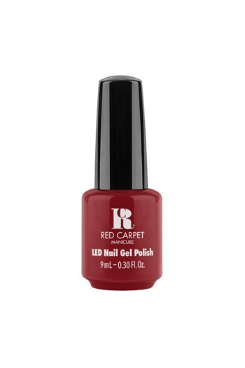Red Carpet Manicure - LED Nail Gel Polish - No Competition - 9ml / 0.30oz