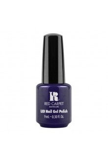 Red Carpet Manicure - LED Nail Gel Polish - Past Midnight - 9ml / 0.30oz