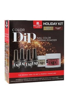 Red Carpet Manicure Color Dip Holiday Kit
