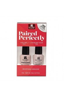 Red Carpet Manicure - Paired Perfectly GEL & Lacquer DUO - Skirting Around