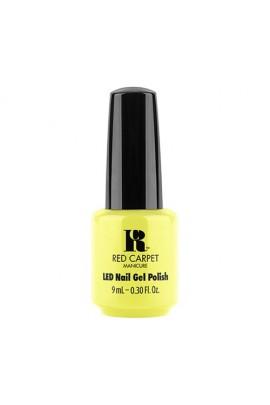 Red Carpet Manicure LED Gel Polish - Fiji Fever Summer 2017 Collection - Summer Glow - 0.3oz / 9ml