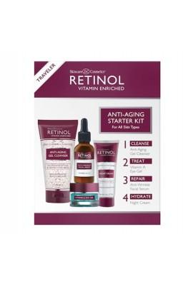 Retinol - Traveler Anti-Aging Starter Kit- 4pc
