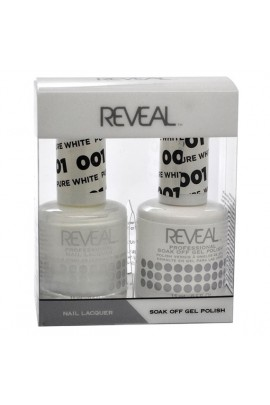 Reveal Professional - Gel & Lacquer - Pure White 001 - 15 mL / 0.5 oz