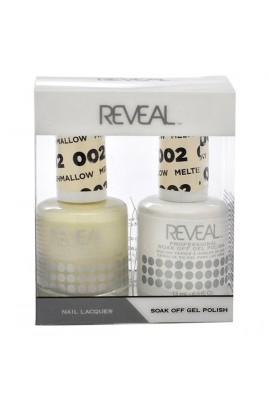 Reveal Professional - Gel & Lacquer - Melted Marshmallow 002 - 15 mL / 0.5 oz