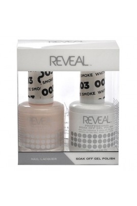 Reveal Professional - Gel & Lacquer - White Smoke 003 - 15 mL / 0.5 oz