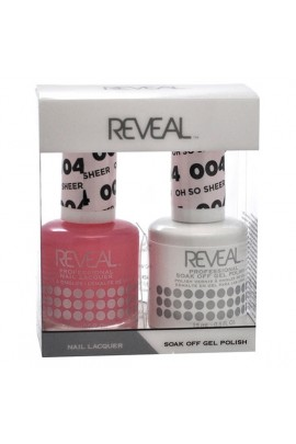 Reveal Professional - Gel & Lacquer - Oh So Sheer 004 - 15 mL / 0.5 oz