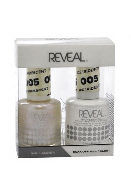 Reveal Professional - Gel & Lacquer - Iridescent Ice 005 - 15 mL / 0.5 oz
