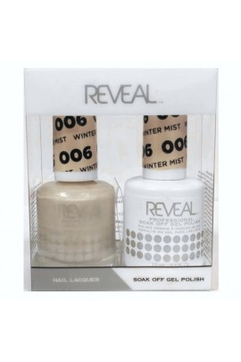 Reveal Professional - Gel & Lacquer - Winter Mist 006 - 15 mL / 0.5 oz