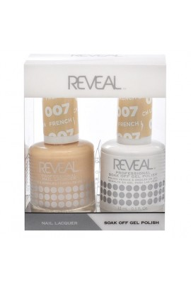 Reveal Professional - Gel & Lacquer - French Linen 007 - 15 mL / 0.5 oz