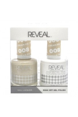 Reveal Professional  - Gel & Lacquer - Cream Pie 008