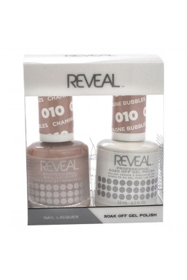 Reveal Professional - Gel & Lacquer - Champagne Bubbles 010 - 15 mL / 0.5 oz
