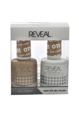 Reveal Professional - Gel & Lacquer - Tan Lines 011 - 15 mL / 0.5 oz