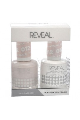 Reveal Professional - Gel & Lacquer - Porcelain Romance 012 - 15 mL / 0.5 oz
