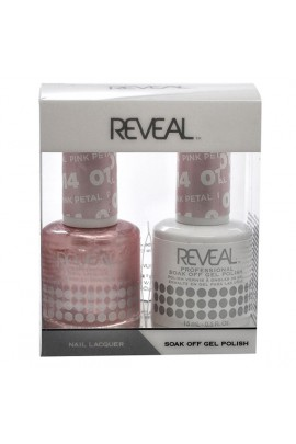 Reveal Professional - Gel & Lacquer - Pink Petal 014 - 15 mL / 0.5 oz