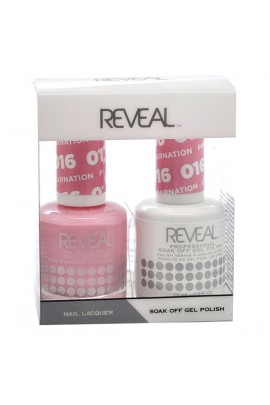 Reveal Professional - Gel & Lacquer - Pink Carnation 016 - 15 mL / 0.5 oz