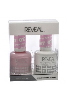 Reveal Professional - Gel & Lacquer - Bare Pink 017 - 15 mL / 0.5 oz