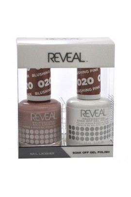 Reveal Professional - Gel & Lacquer - Blushing Pink 020 - 15 mL / 0.5 oz