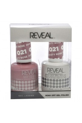 Reveal Professional - Gel & Lacquer - Dusty Rose 021 - 15 mL / 0.5 oz