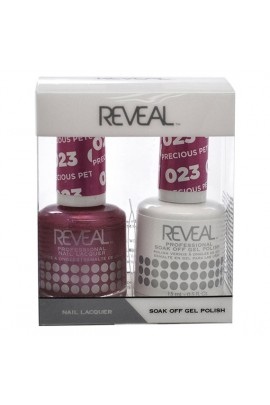 Reveal Professional - Gel & Lacquer - Precious Petunias 023 - 15 mL / 0.5 oz