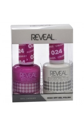 Reveal Professional - Gel & Lacquer - Crushed Berries 024 - 15 mL / 0.5 oz