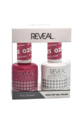 Reveal Professional - Gel & Lacquer -Wild Pink 025  - 15 mL / 0.5 oz