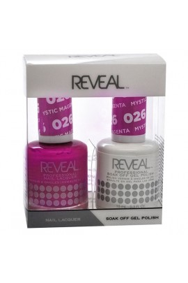 Reveal Professional - Gel & Lacquer - Mystic Magenta 026 - 15 mL / 0.5 oz