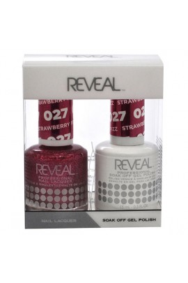 Reveal Professional - Gel & Lacquer - Strawberry Fizz 027 - 15 mL / 0.5 oz
