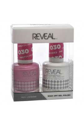 Reveal Professional - Gel & Lacquer - Pretty Peonies 030 - 15 mL / 0.5 oz