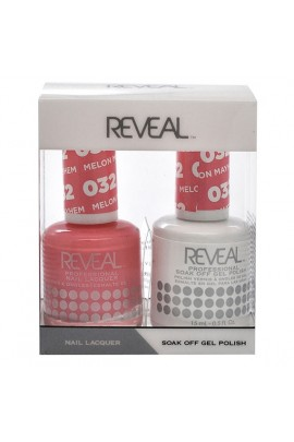 Reveal Professional - Gel & Lacquer - Melon Mayhem 032 - 15 mL / 0.5 oz