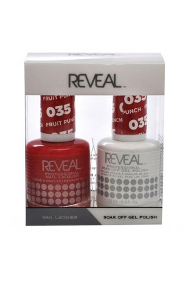 Reveal Professional - Gel & Lacquer - Fruit Punch 035 - 15 mL / 0.5 oz
