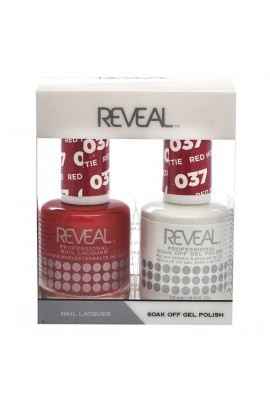 Reveal Professional - Gel & Lacquer - Red Hottie 037 - 15 mL / 0.5 oz