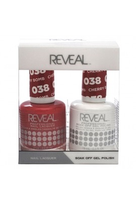 Reveal Professional - Gel & Lacquer - Cherry Bomb 038 - 15 mL / 0.5 oz