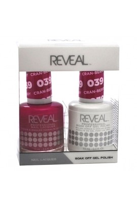 Reveal Professional - Gel & Lacquer - Cran-berry 039 - 15 mL / 0.5 oz