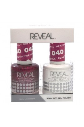 Reveal Professional - Gel & Lacquer - Ready for Rubies 040 - 15 mL / 0.5 oz